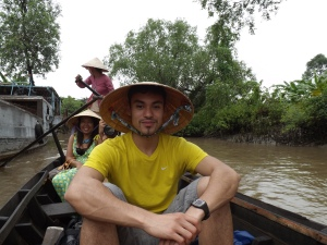 Travelling through the Mekong Delta. June 2013