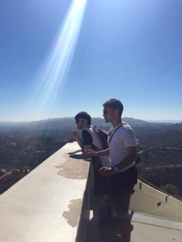 Looking over LA from Griffith Observatory